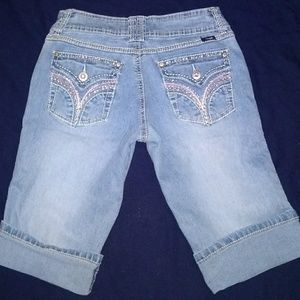 Angels Super Cute Embelliahed Bermudas